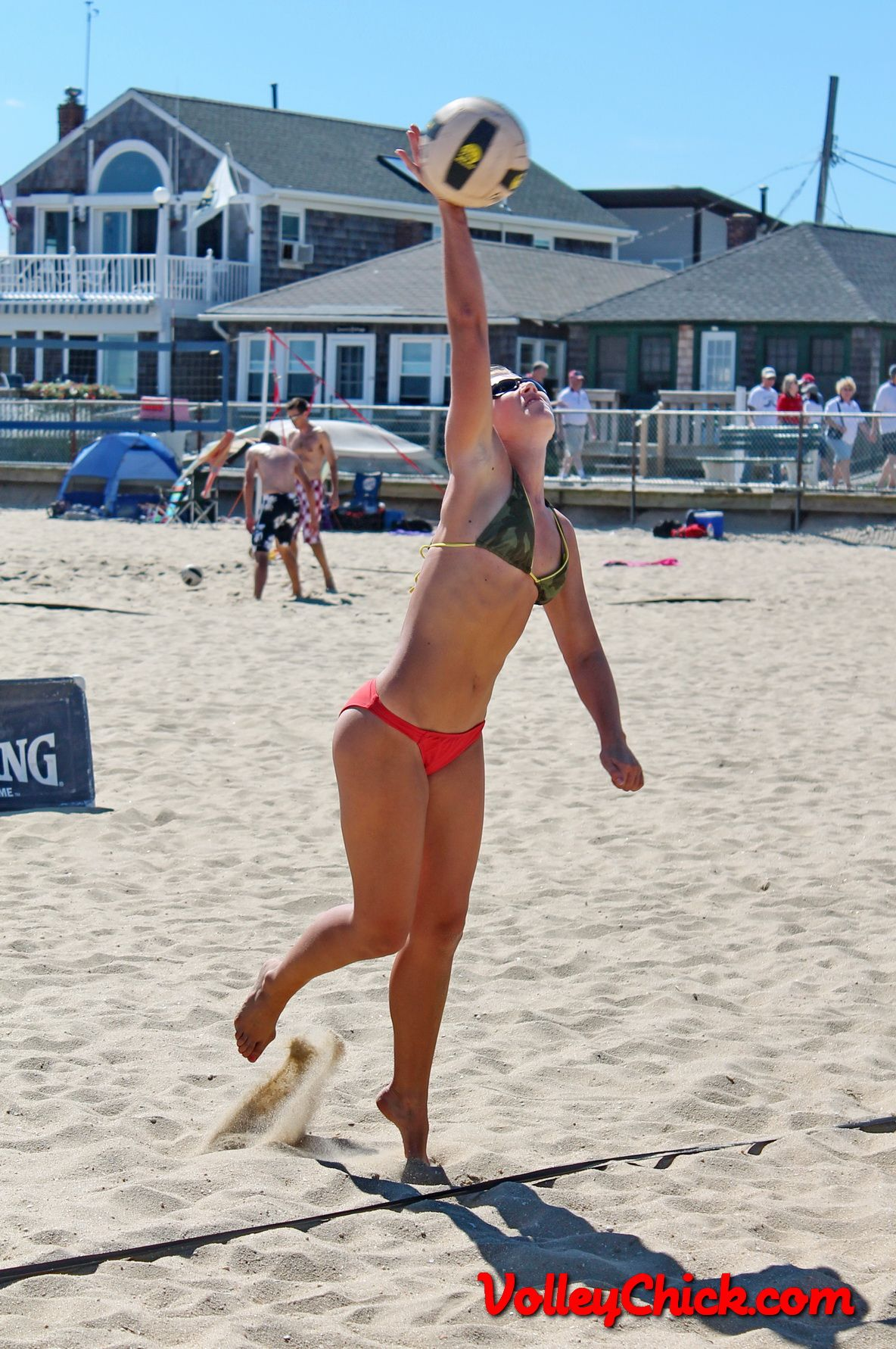 Beach Volleyball Rachel In Point Pleasant Nj Volley