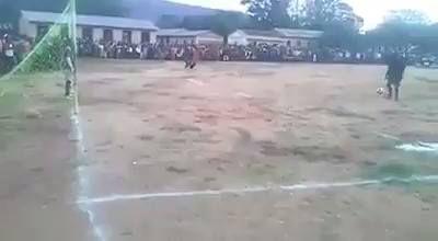 Controversial Penalty Kick... Goal Or Not?
