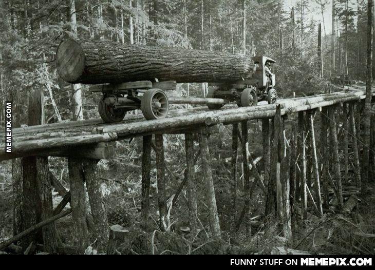Antique logging equipment best decor ideas