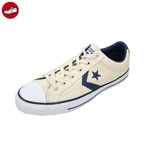 Converse Chuck Taylor Noyau Chaussures De Sport De Bœuf Lea, Unisexe - Chaussures De Sport Pour Adultes - Blanc - 42,5 Ue