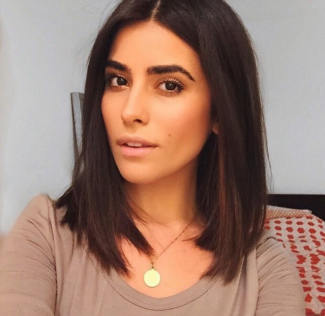 Pin by alyssa brooke on hairmakeup pinterest hair style 25 simple long bob hairstyles which you can do yourself superb long dark brown bob solutioingenieria Image collections
