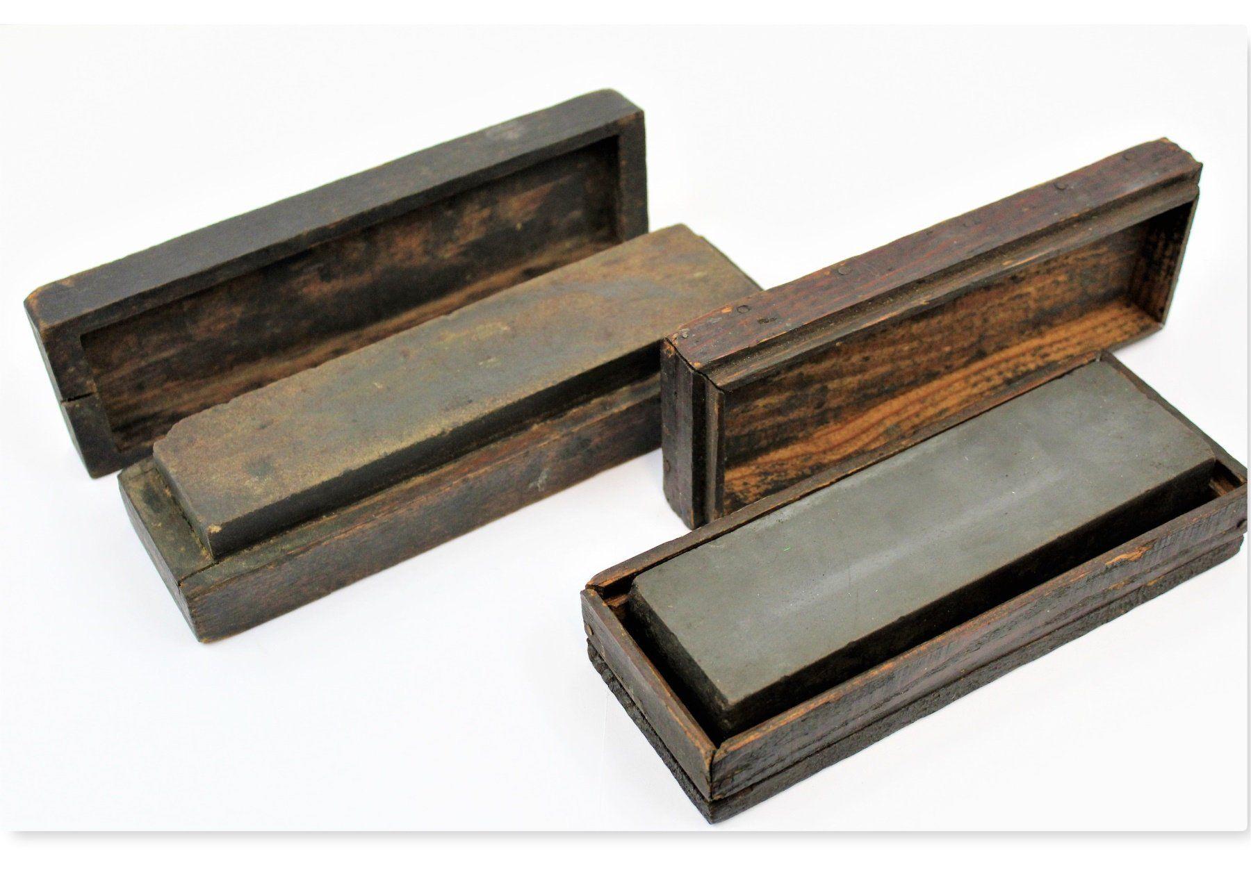 Antique oilstone sharpening stone wet stone knife