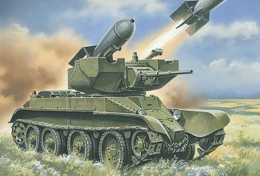 Variante del BT-5 UMT, llevaba dos cohetes rs-132. Más en www.elgrancapitan.org/foro/