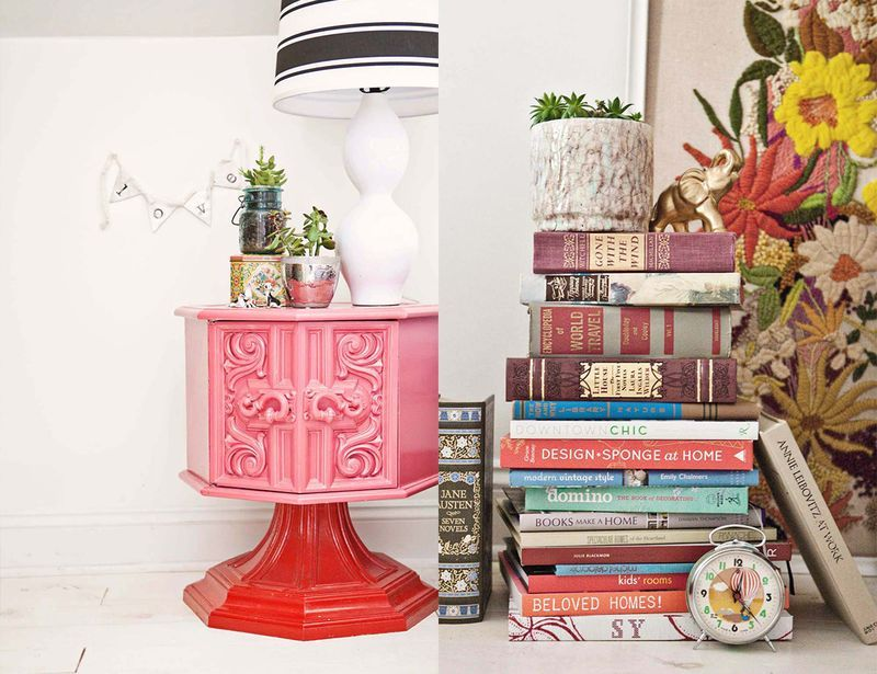 At Home With Janae Hardy   Drum table, Detail and Vintage