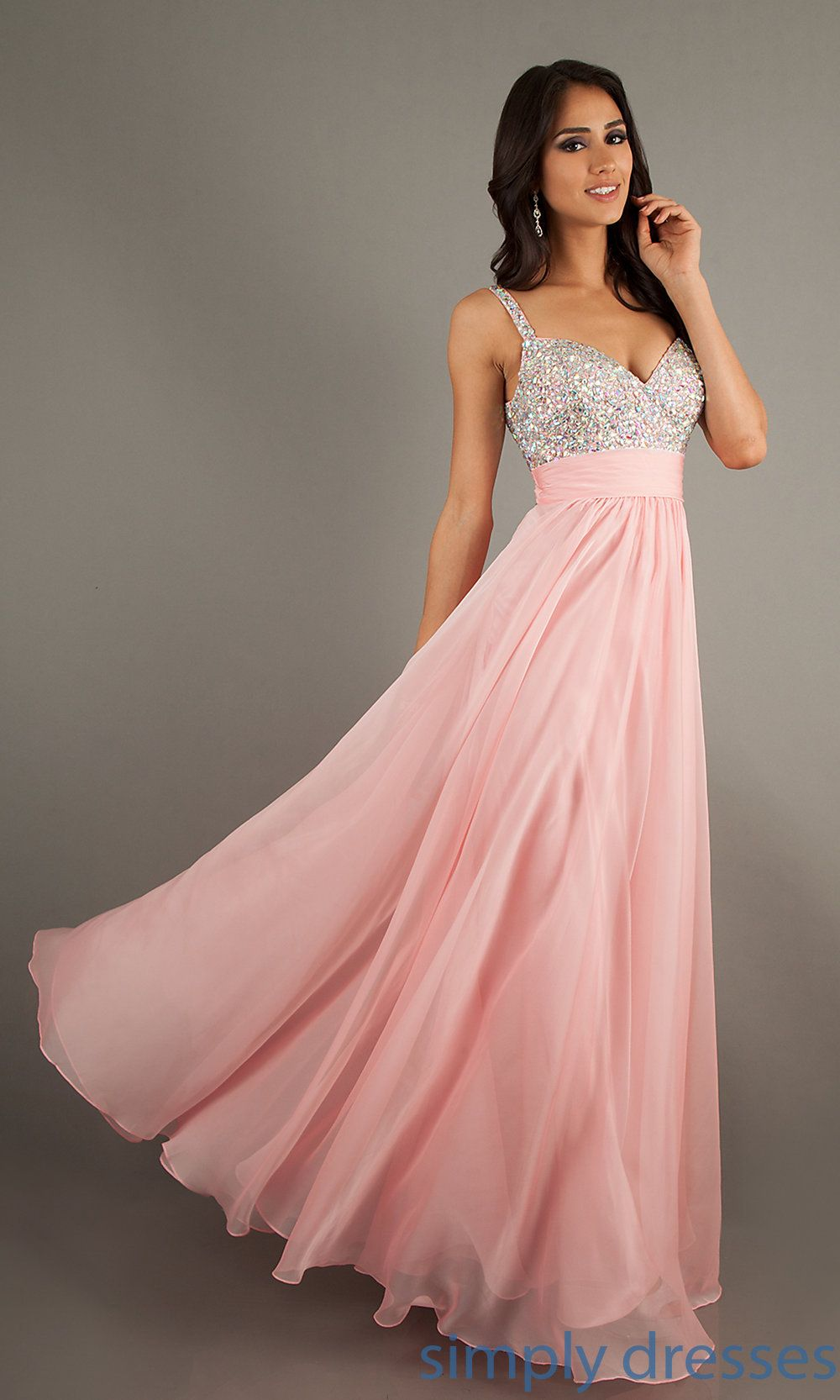 LF-16802 - La Femme Beaded Long Formal Dress | Me gustas y Ropa