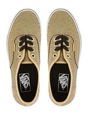Vans - Authentic - Baskets - Éclat doré
