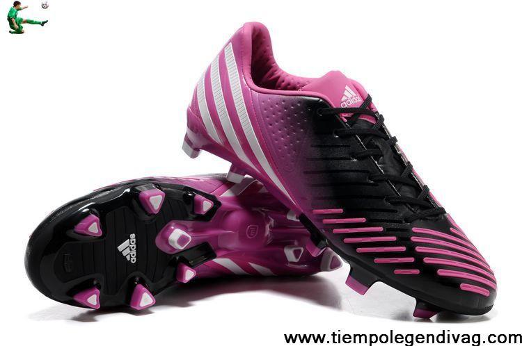 Fashion Adidas Predator LZ TRX FG - Bright Pink-White-Black(G60124)