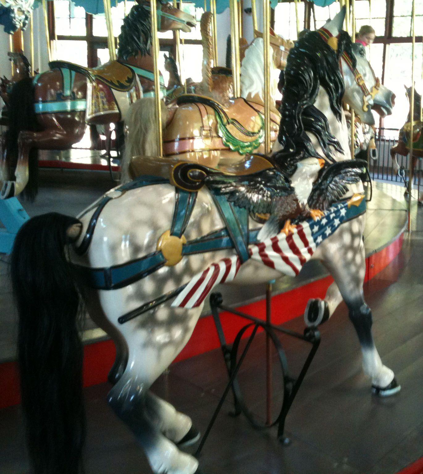 animal carousel Description Pullen Park Carousel Animal