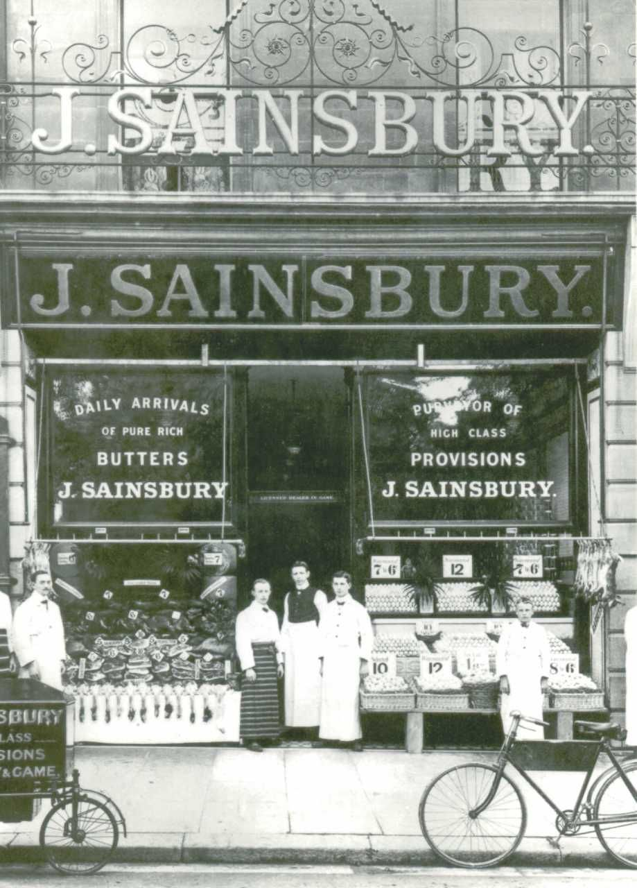 Romford Sainsbury S Store 1905 Vintage Photography Old