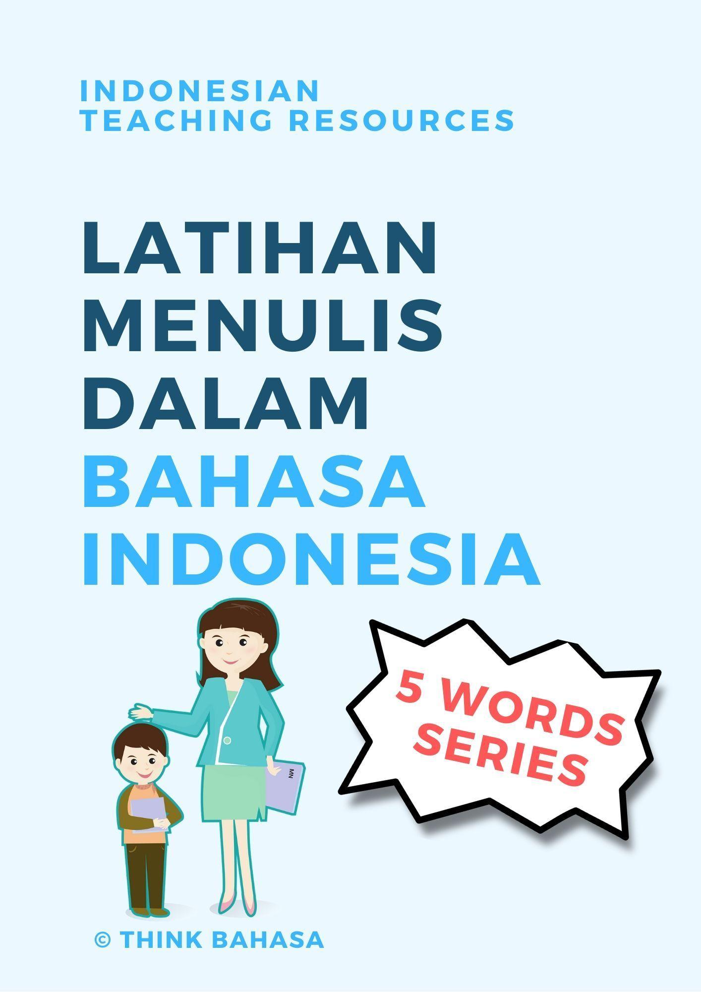Pin On Indonesian Worksheet