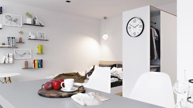 #Interior Design Haus 2018 Wohnungen Kleinen Raum Bis Zum Maximum Nutzbar  Gemacht #Room #