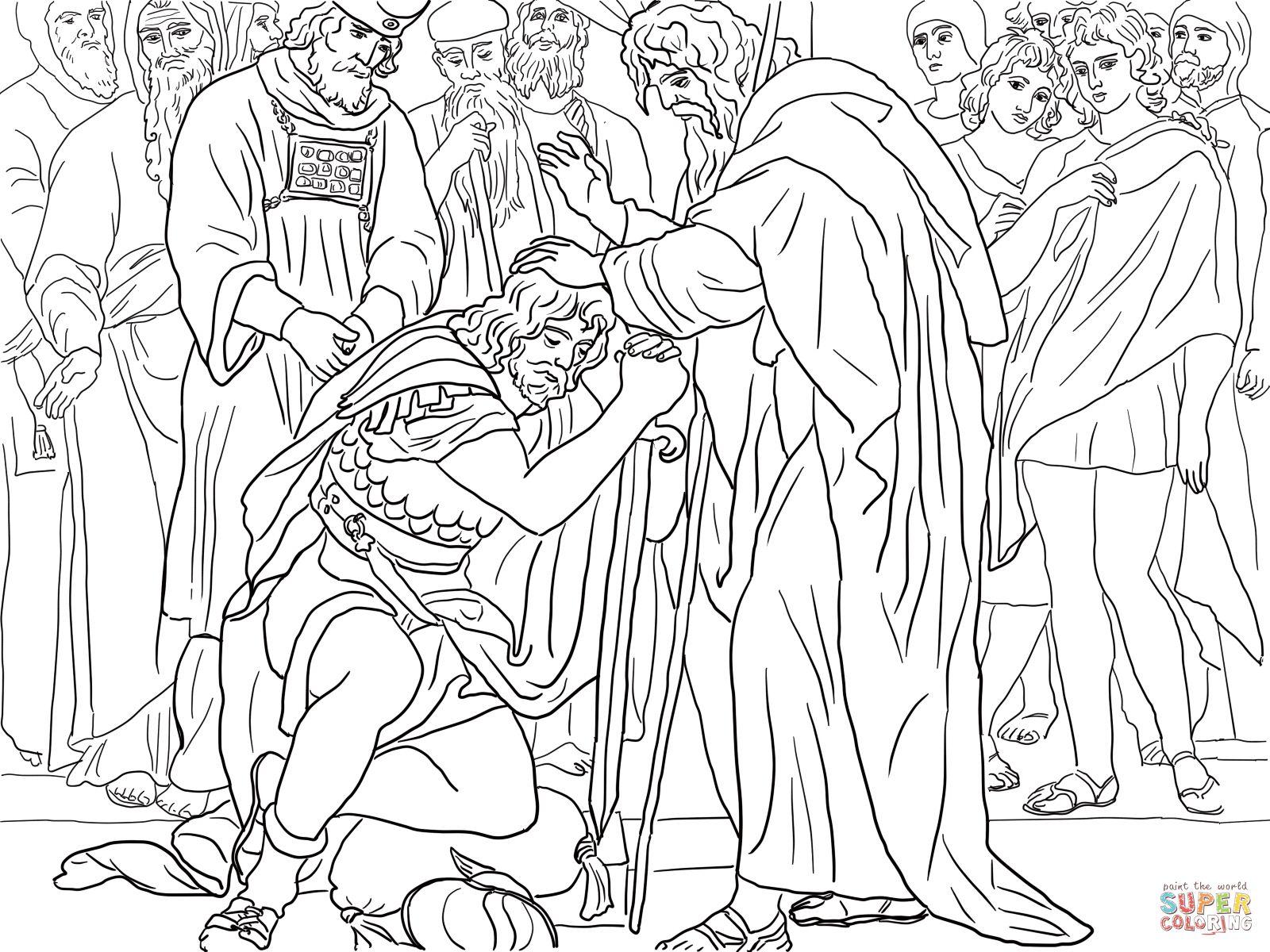 Josué es nombrado sucesor de Moisés | Super Coloring | biblie copii ...