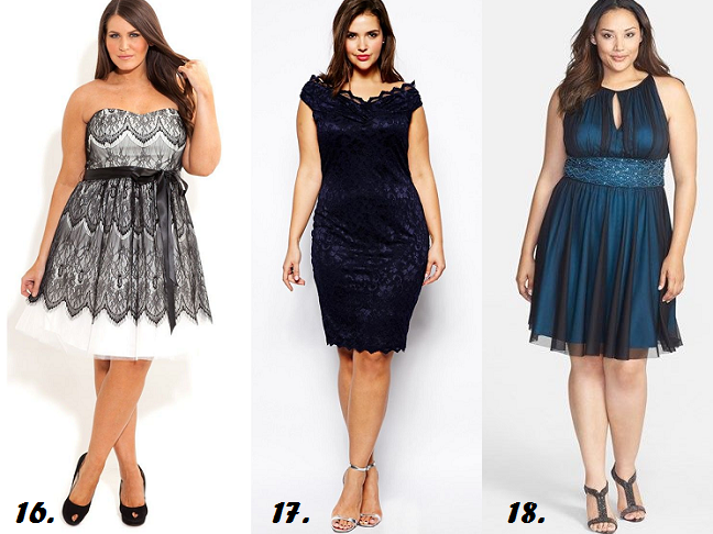 Shapely Chic Sheri: 40 Plus-Sized Summer Wedding Guest Dresses ...