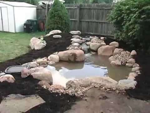 how to build a small pond gardening tips pinterest
