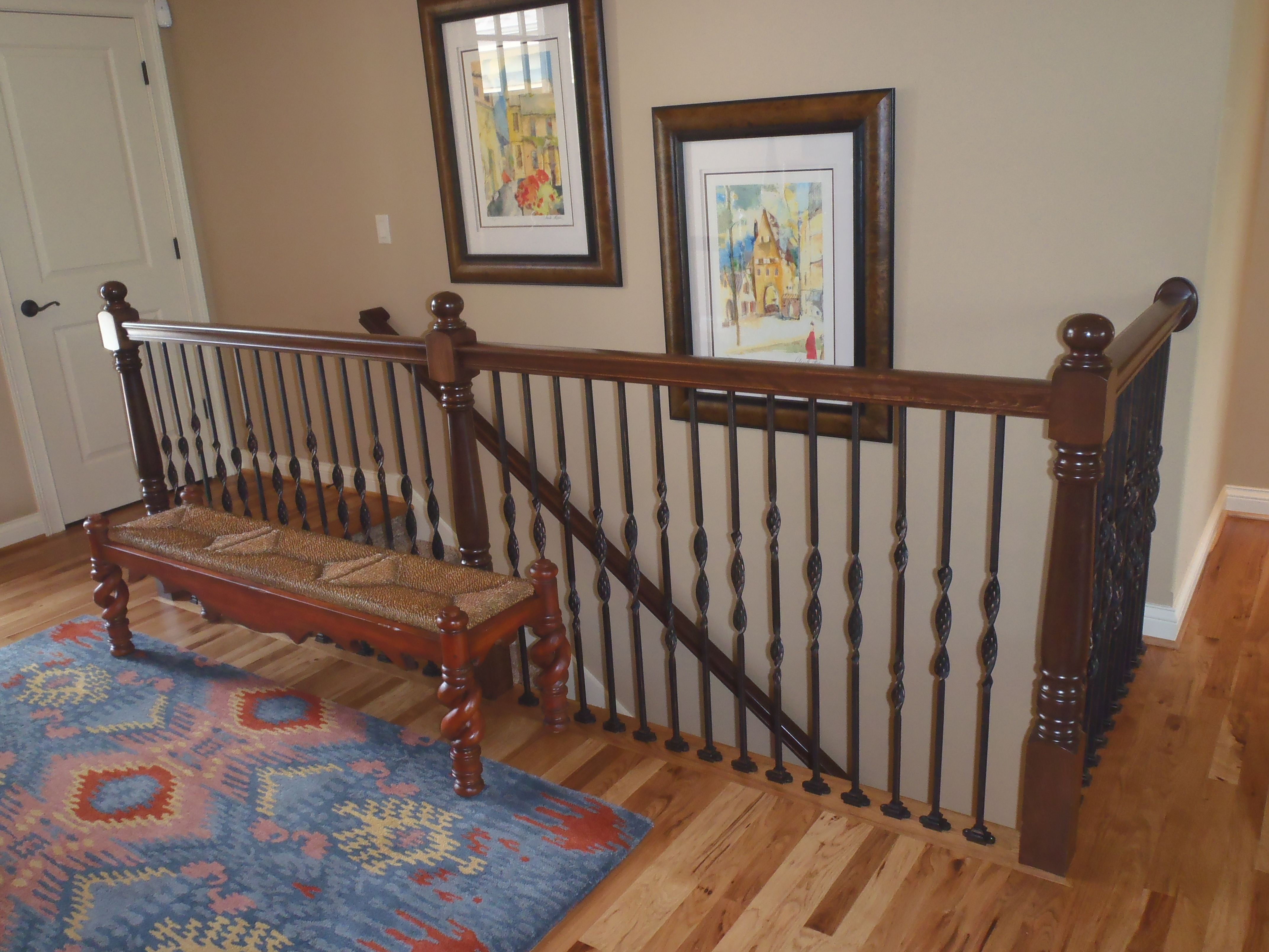 Different spindals on your hand railing will add more detail. For more information visit www.carstensenhomes.com