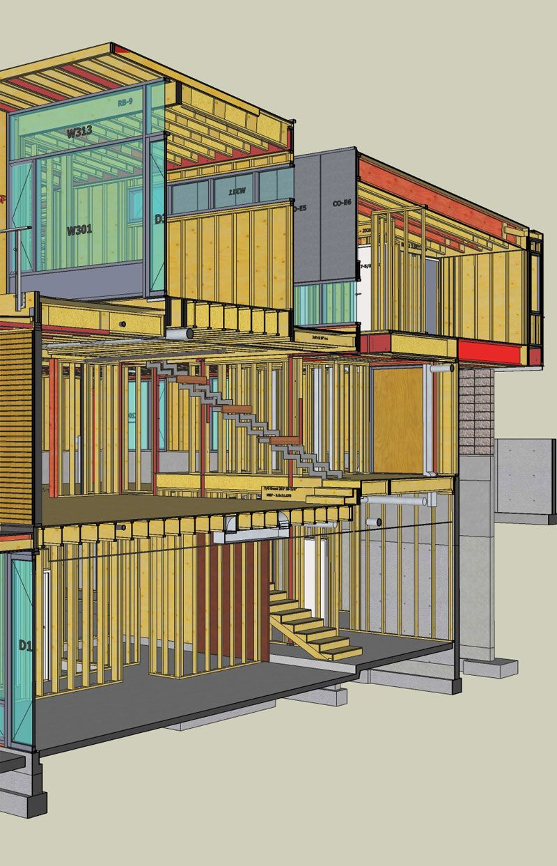 Beau CYPRESS ST VIRTUAL CONSTRUCTION HOUSE FRAMING WITH SKETCHUP