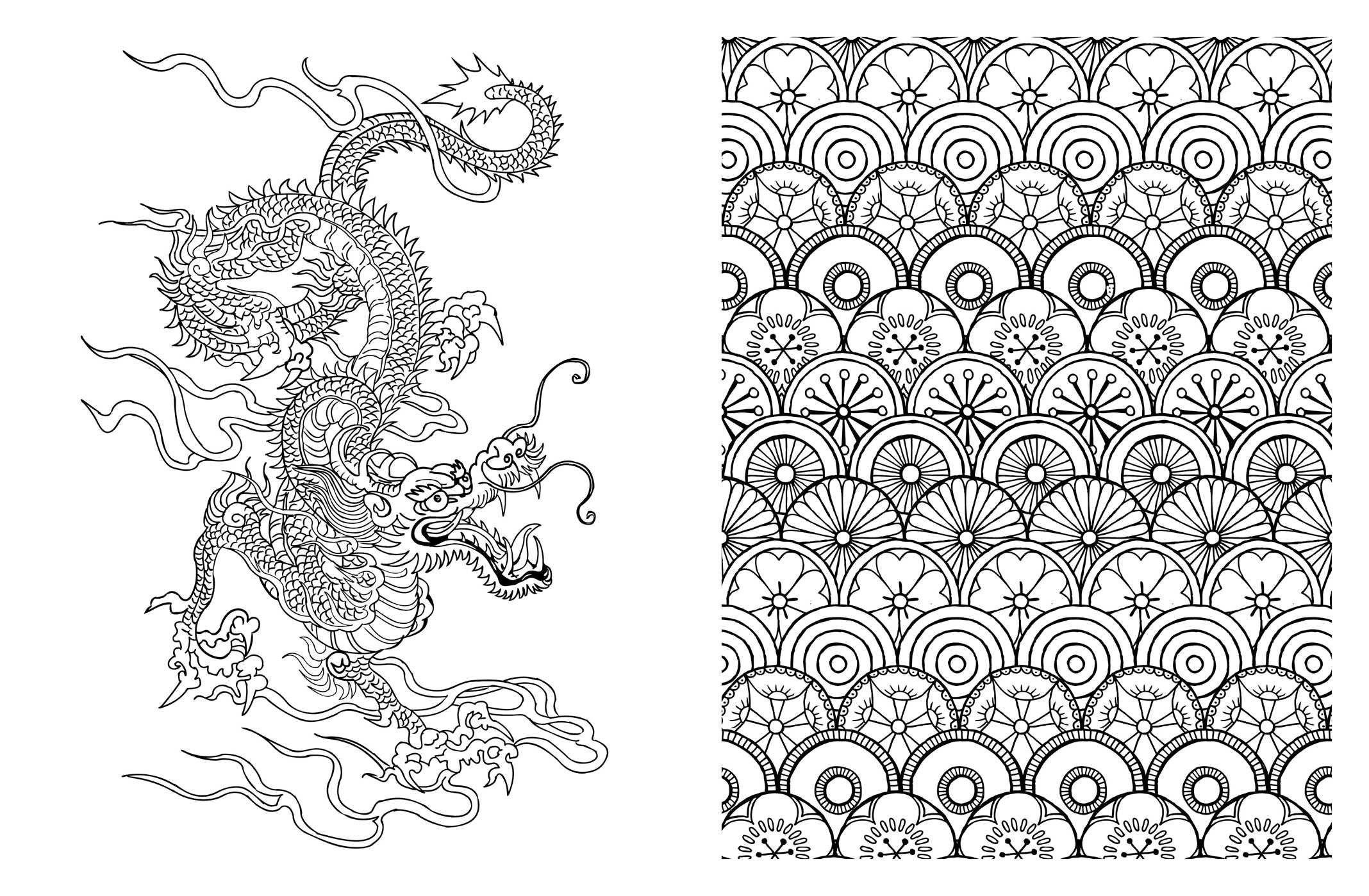 Amazon.com: Posh Adult Coloring Book: Japanese Designs for Fun and ...