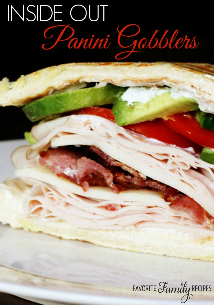 """We got the idea from the """"Gobbler"""" sandwiches at Pizza Factory and we designed this awesome copycat recipe. It has all the best sandwich ingredients - bacon, avocado, tomato and more!"""