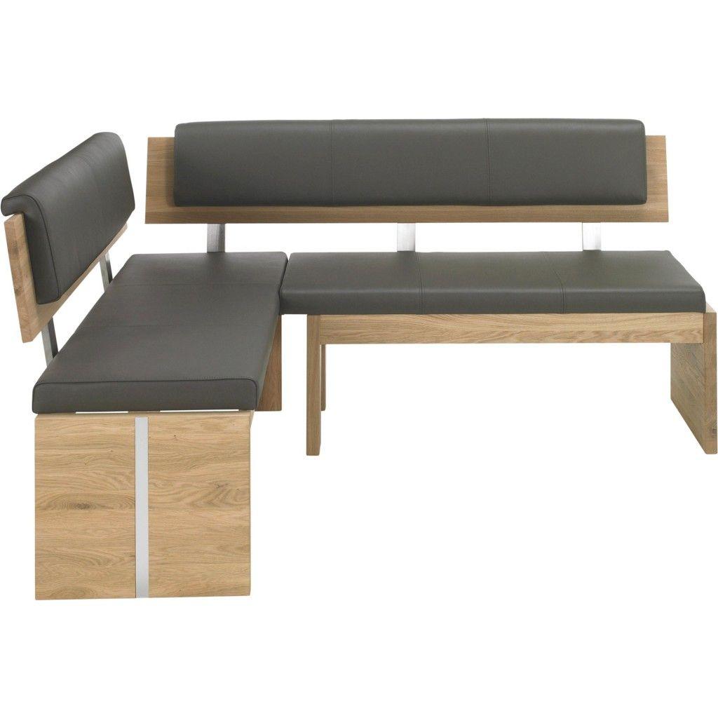 Eckbank modern grau  VALDERA ECKBANK Holz, Leder, Metall Braun Jetzt bestellen unter ...