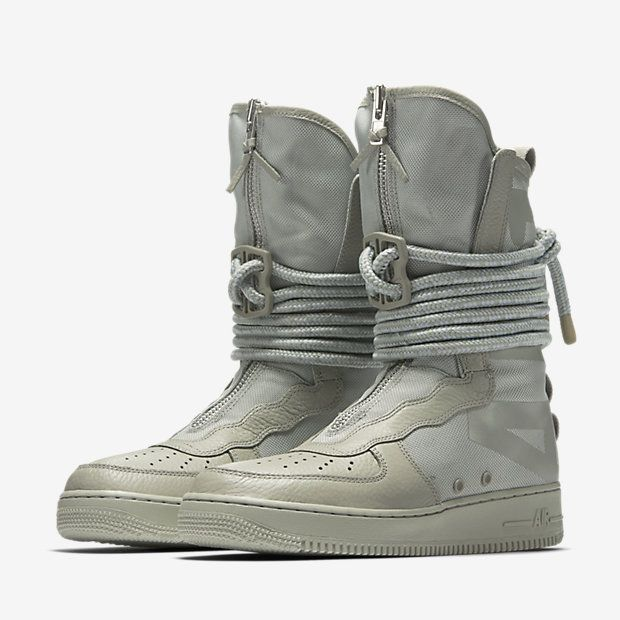Nike Sf Air Force 1 High Boot Sage Grailify Sneaker Releases Nike Boots Boots Boots Men