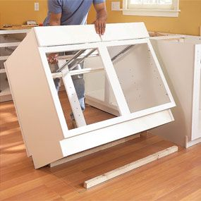 source: Step #6, photo #11 of Installing Kitchen Cabinets - I can ...