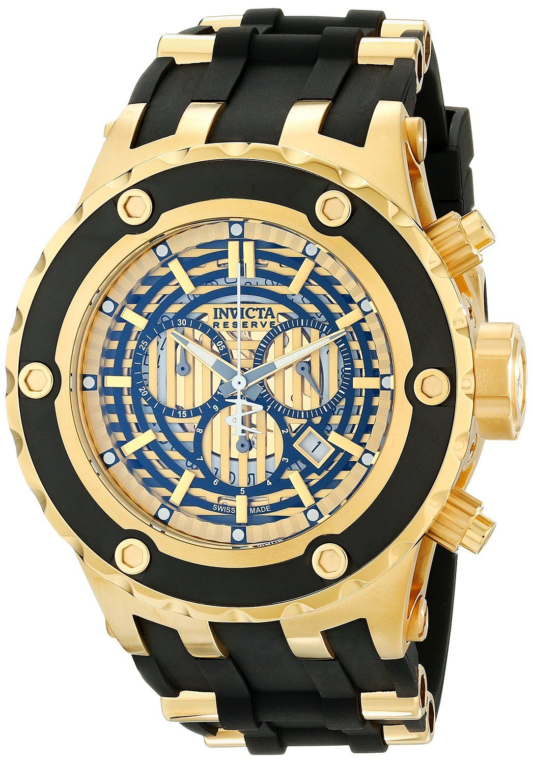 862af20f72d Gold watches   Gold watches for men Invicta Invicta Men s Subaqua 16826 ·  BijuteriasMinha PaixãoRelógios ...