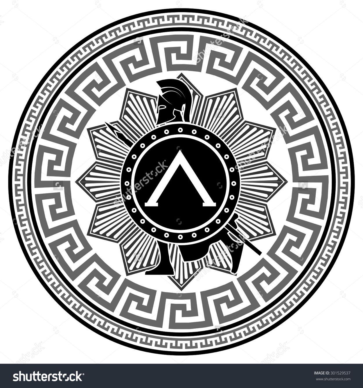 Greek mandala tattoo pinterest mandala greek and tattoo greek mandala biocorpaavc