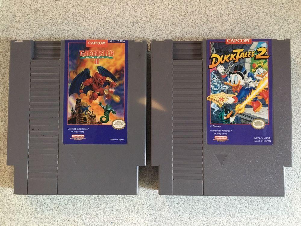 Duck Tales 2 Nes Gargoyles Quest 2 Nes Original Nintendo Games Original Nintendo Duck Tales Gargoyles