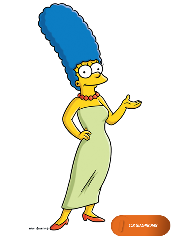 Marge Simpson. Os Simpsons - Domingos 20h  OsSimpsons  www.canalfox.com.br ossimpsons f01212f2c0c