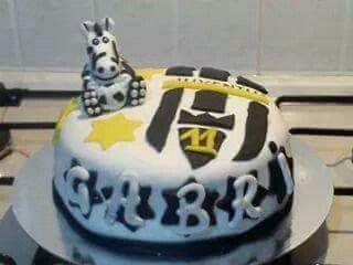torta juventus   le mie torte in pasta di zucchero   pinterest   pasta - Decorazioni Torte Juventus