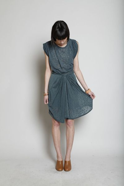 Isabel Marant Tulip Burnout Dress. LOVE. $343. You can buy it here:  http://www.shopmrsh.com/products/Etoile_Isabel_Marant/Tulip_Dress/ or here in black:  http://www.net-a-porter.com/product/114670