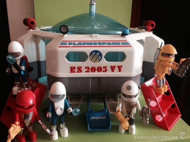 Playmobil nave espacial 3536 famobil original playmobil for Nave espacial playmobil