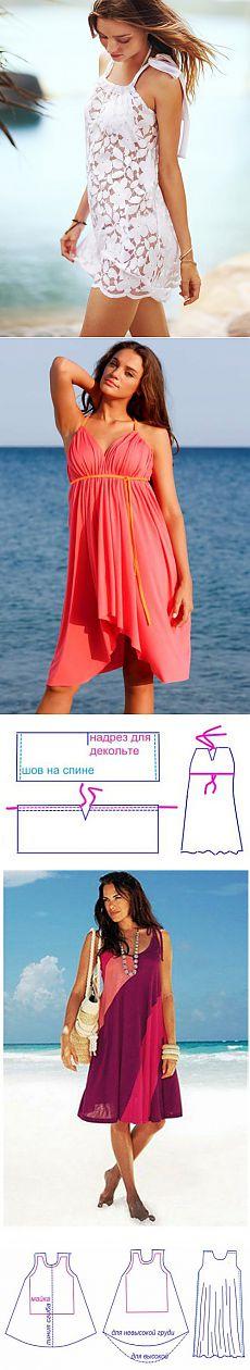 Elbise kolay bir yaz diker - desenleri ile 5 modelleri | Benim Milady
