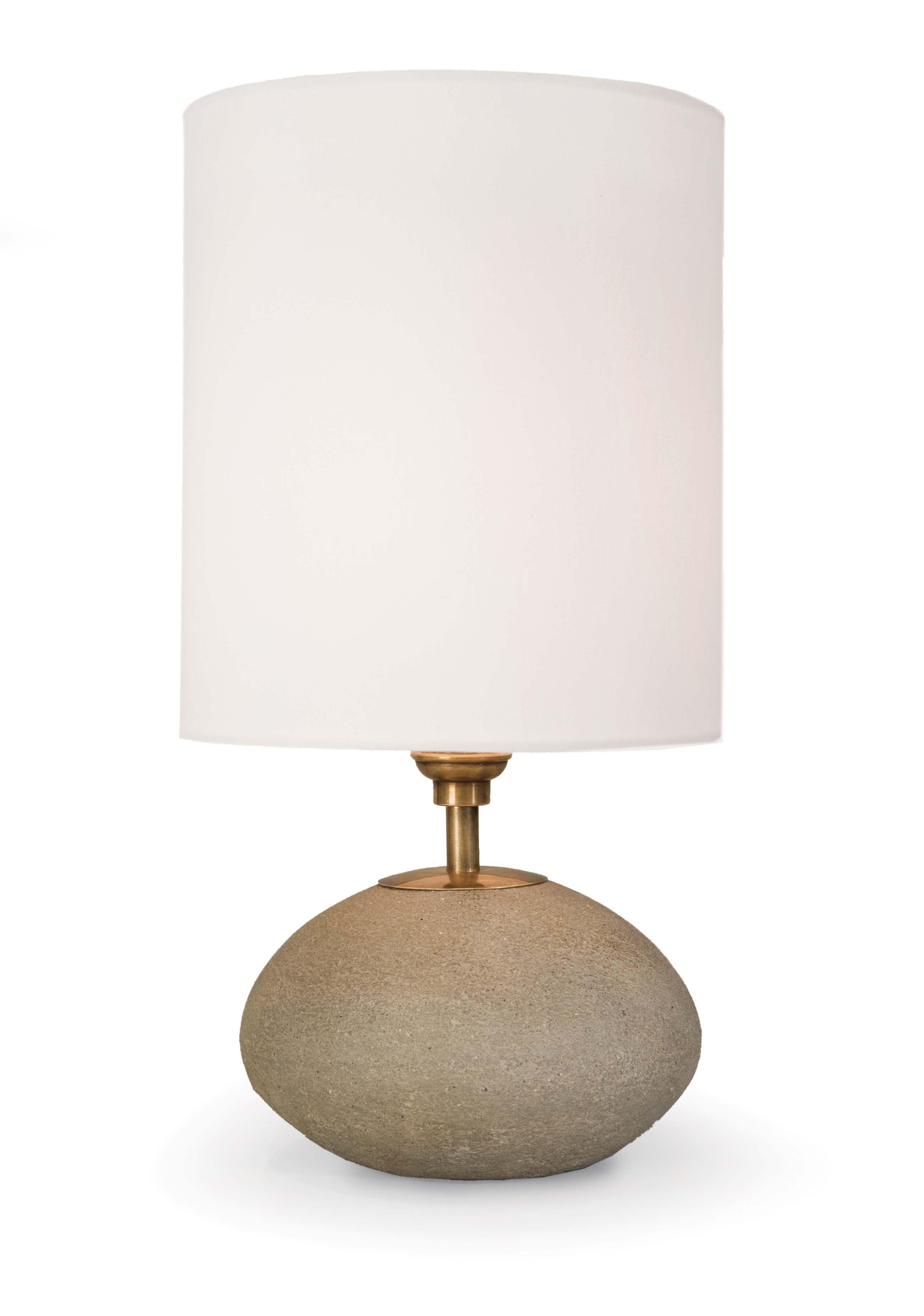 Aksel Table Lamp, Stone Lamp, Table lamp, Concrete light