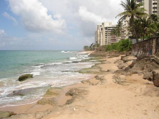 Beautiful Condado Beach Shoreline http://www.puertoricoblogger.com/condado-beach/