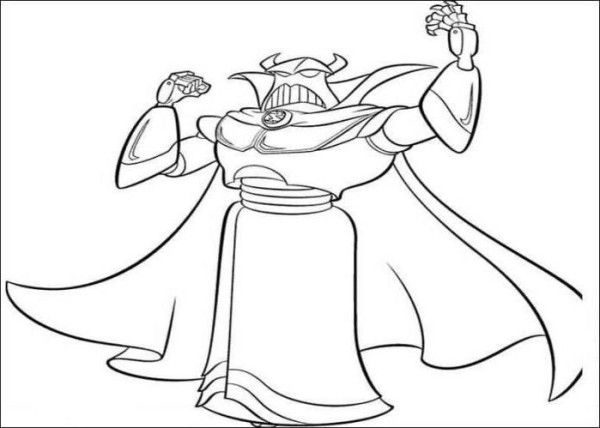 Sarge alien head toy story 2 coloring pages coloring 4 for Toy story 2 coloring pages