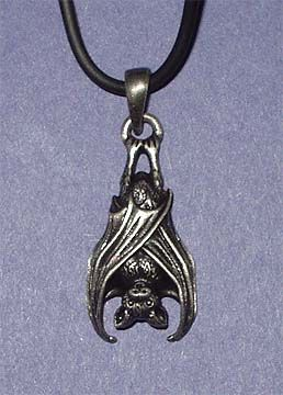 viking pewter vampire charm gothic totem celtic knot s loading metal bat pendant itm punk is image