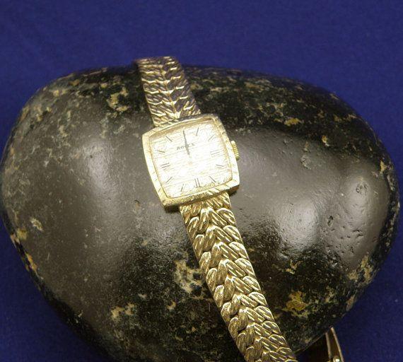 Vintage 1400 Montres Rolex Ladies Gold by diamondmastersuscoin