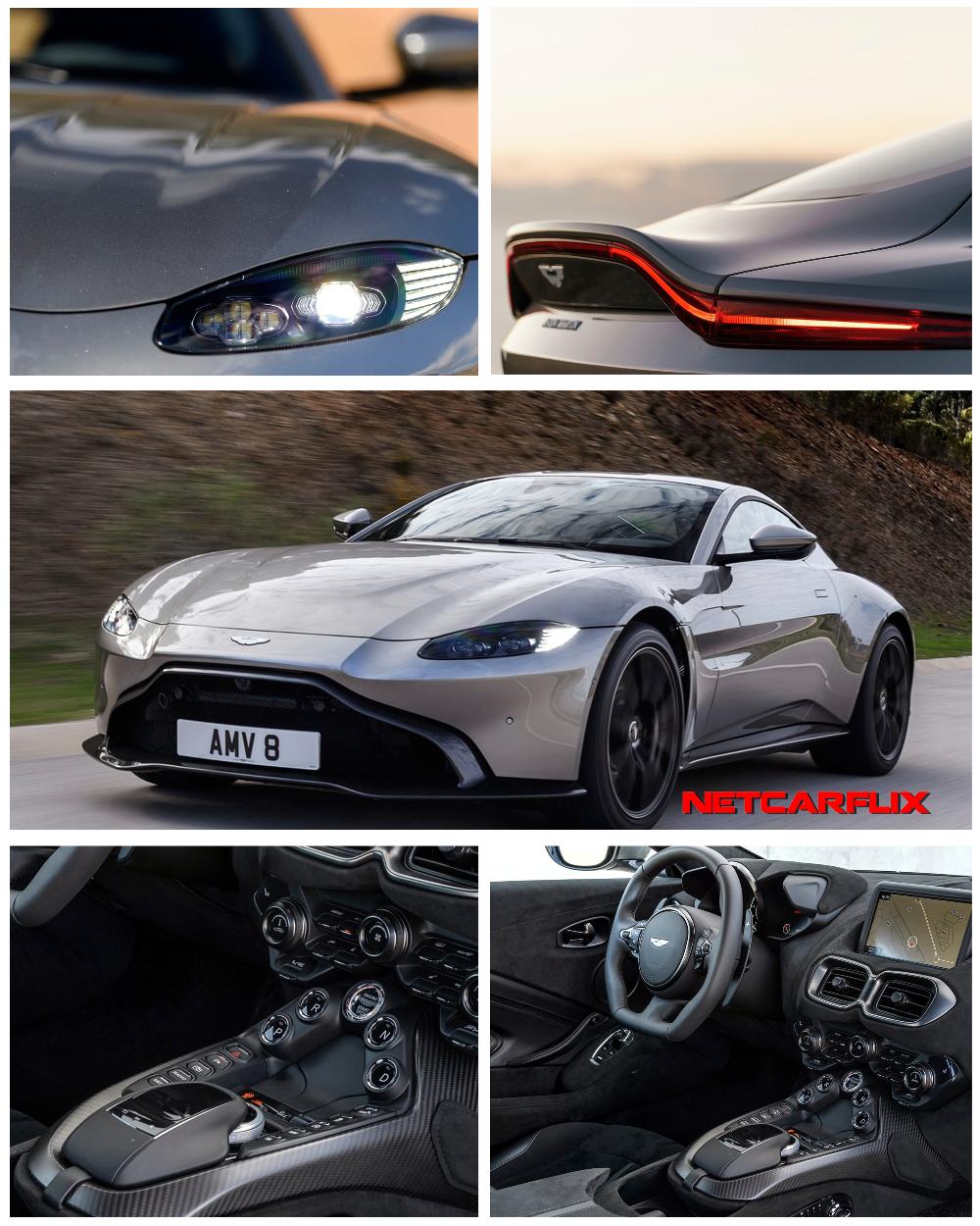 2019 Aston Martin Vantage Tungsten Silver -HQ Pictures