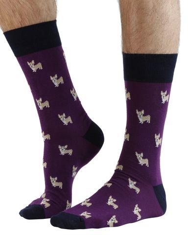 Casual Corgi Socks Cotton Dress Socks For Men Women