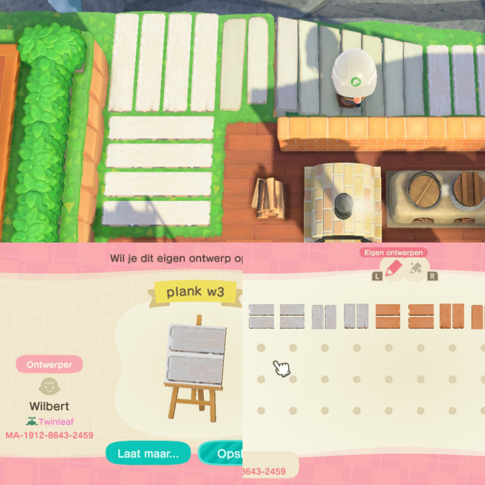 TwinleafLazytown on Twitter in 2020   Animal crossing ... on Animal Crossing New Horizons Wood Design  id=13660