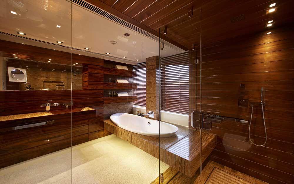 Art Line Interiors Luxury Yacht Interior Bathroom Design Design