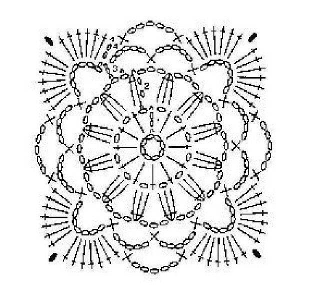 Crochet Pattern | Flor, Blusas y Flores