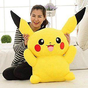 "Amazon.com - AmazingOS® Large Toy Factory Pokemon Pikachu Plush XY Stuffed Doll 16"" 20"" 24"" Gift (60cm) -"