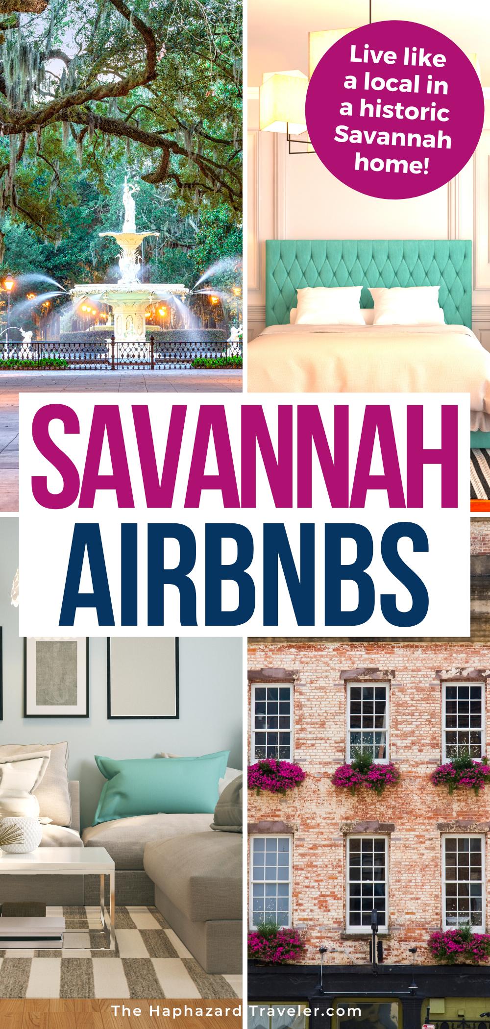 Airbnb Savannah Georgia Historic Stays Neighborhood Tips In 2021 All Inclusive Beach Resorts Vacation Usa Savannah Chat