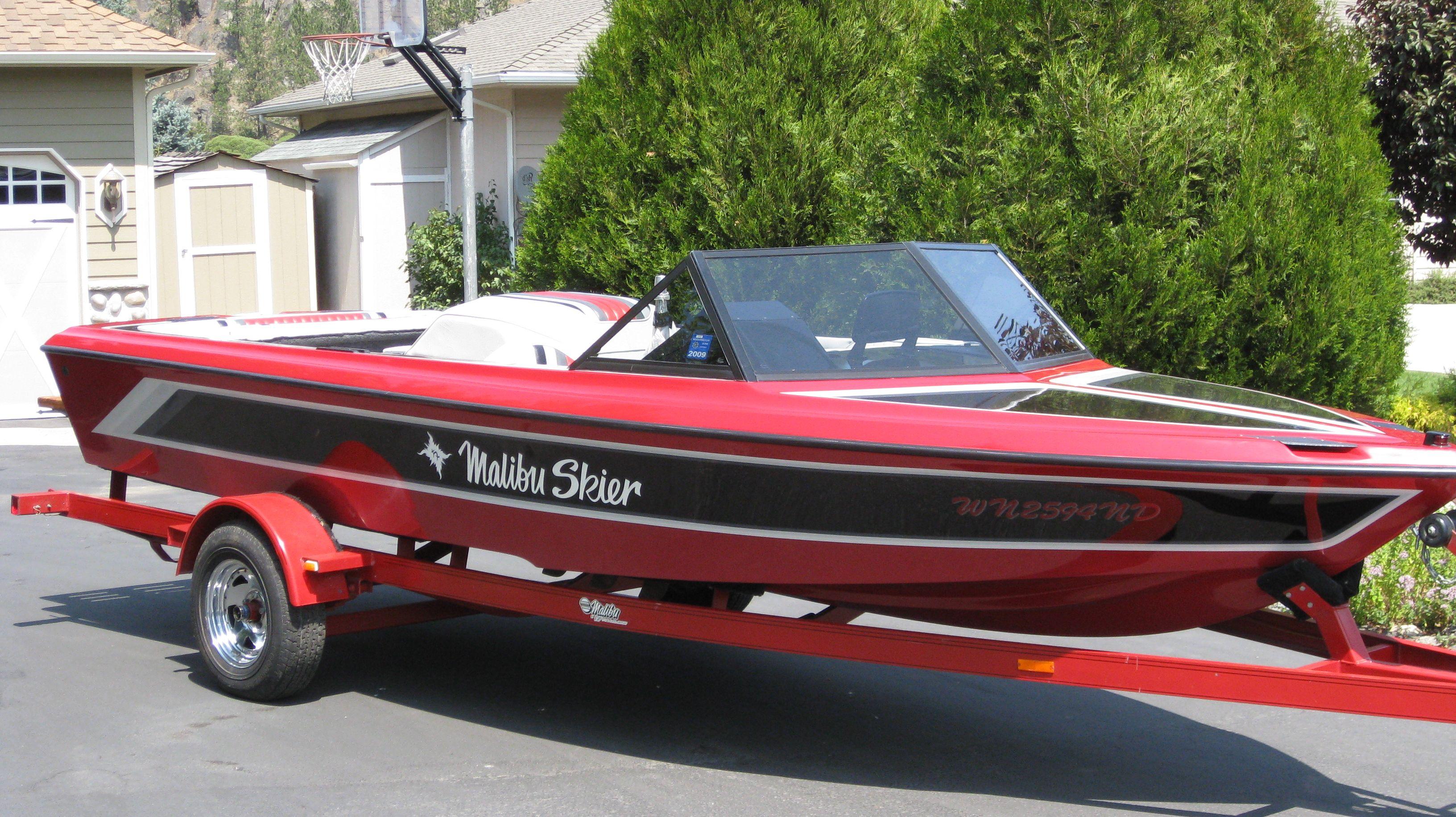 1991 Malibu Skier Malibu Boats Malibu Ski Boats