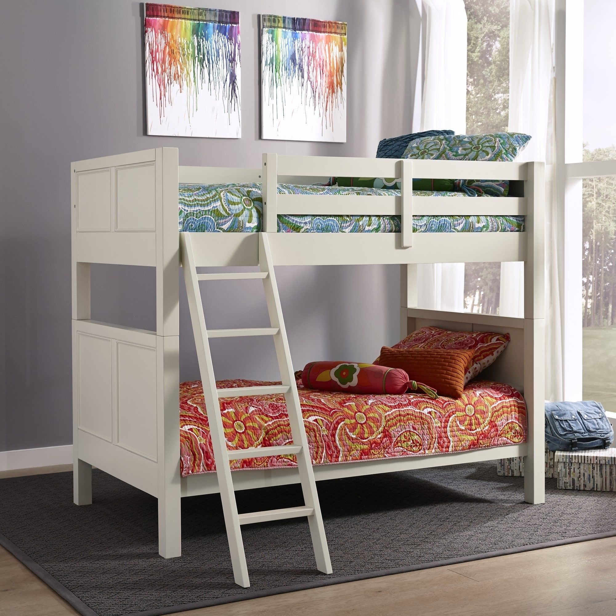 Copper Grove Pleternica White TwinoverTwin Bunk Bed