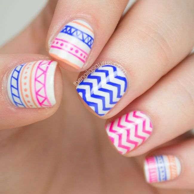 Cool Tribal Nail Art Ideas And Designs Work To Mark Rites Of Page Helped Identify Family Members Or As A Charm Ward Off Evil Spirits