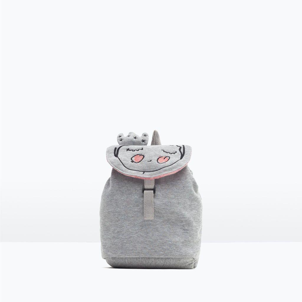 ZARA - NEW IN - Princess detail backpack