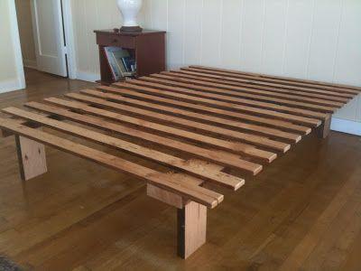 Best Very Very Simple Bed Frame Mobília Minimalista Móveis 400 x 300